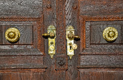 Door of the Great Church Royalty Free Stock Photo
