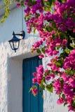 Door in Greece Stock Photos