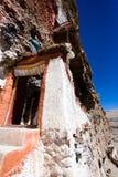Door of Gu Pu'er temple Royalty Free Stock Photography
