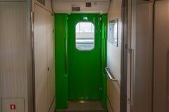 Door of H5 Series bullet (High-speed or Shinkansen) train. Stock Photography