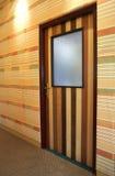 door hallway patterned wooden Στοκ Εικόνα