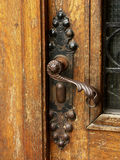 Door handle. Old door handle stock photos