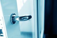 The door handle Stock Photo