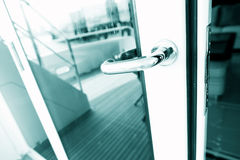 The door handle Stock Images