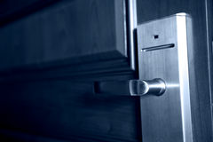 The door handle Stock Image