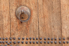 Door Handle. On an entrance door of a kasbah, Morocco, North Africa royalty free stock photography