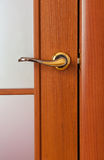 The door handle Stock Photo