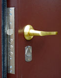 The door handle Royalty Free Stock Photo