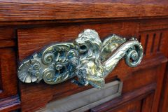 The door handle Royalty Free Stock Photography