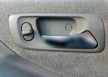 Door handle. Handle of a car stock photography