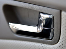 Door Handle. Of the car Royalty Free Stock Photo