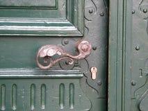 Door-handle. Vintage door-handle stock image