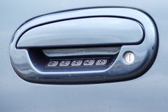 Door Handle. Car Door Handle Royalty Free Stock Photo