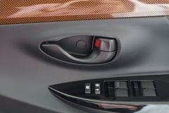 door handle in car Royalty Free Stock Photo