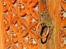 A door handle Stock Image