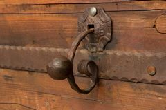 A door handle forged Stock Images