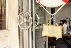 Door handle Royalty Free Stock Photography