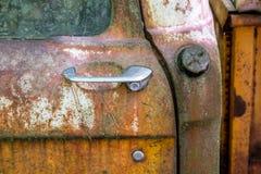 Door Handle and Gas Cap Stock Photos