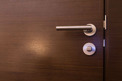 Door Handle. Of a hotel room Royalty Free Stock Image