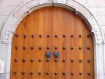 Door Handle at Jing An Temple. Shanghai, China Stock Image