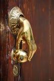 Door handle/knocker. In Spain Royalty Free Stock Photos