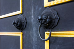 door handle knocker Stock Photography
