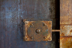Door Handle Lock Detail Royalty Free Stock Photos