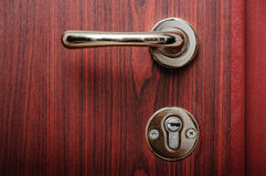 Door handle lock Royalty Free Stock Photos