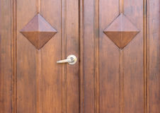 Door handle and master key Royalty Free Stock Images