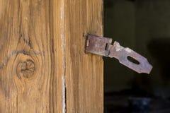 Door Handle. Old Door with Rusted Handle stock photography
