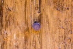 Door Handle. Old Door with Rusted Handle royalty free stock image