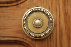 Door handle. Unusual old vintage door handle Royalty Free Stock Image