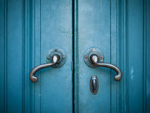 Door handles Stock Image