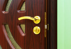 Door handles. Royalty Free Stock Image