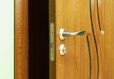 Door handles. Royalty Free Stock Photography