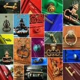 Door handles Royalty Free Stock Photography