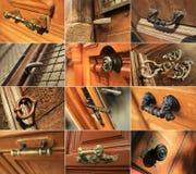 Door handles Royalty Free Stock Photo