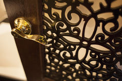 Door handles. With the detail Royalty Free Stock Images