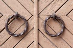 Door handles Stock Images