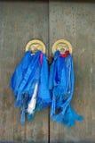 Door handles, Mongolia Royalty Free Stock Photography