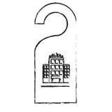 Door hanger icon Royalty Free Stock Images