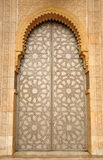 Door in Hassan II Mosque in Casablanca Stock Photos