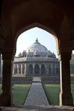 DOOR HET GRAF VAN BOOG-ISA KHAN, NEW DELHI, INDIA Royalty-vrije Stock Afbeeldingen