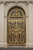 Door at Het Loo palace, Netherlands Royalty Free Stock Photos