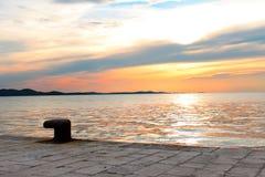 Door het overzees in Kroatië Stock Foto's