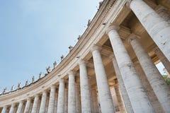 Door het Vatikaan Stock Foto's
