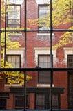 Door het venster Stock Foto's