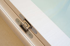 Door hinge Stock Images