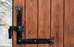 Door hinge Stock Image