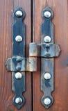 Door hinge. Royalty Free Stock Image
